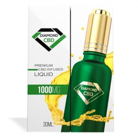 Unflavored Diamond CBD Oil (1000mg)