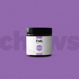 Fab CBD Chews: Fruit Flavors (750mg)