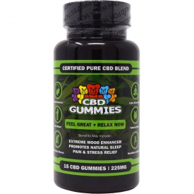 15 Count CBD Gummies (225mg)